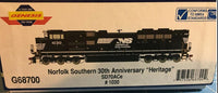 Athearn Genesis G68700 Norfolk Southern NS 30th Anniversary Heritage # 1030 DCC Ready HO Scale