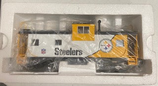 MTH Premier 20-20047-1 Pittsburgh Steelers Ext Caboose O Scale
