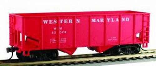 Model Power 98061 Western Maryland WM 36' 2 Bay Open Hopper HO Scale