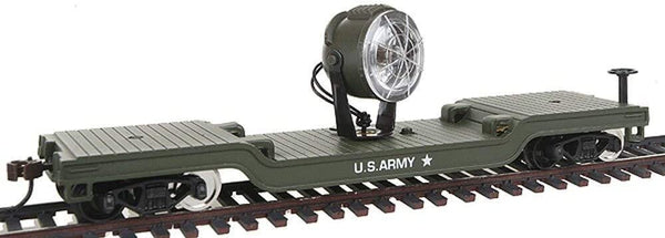 Model Power 98664 U.S. Army Searchlight Car HO Scale