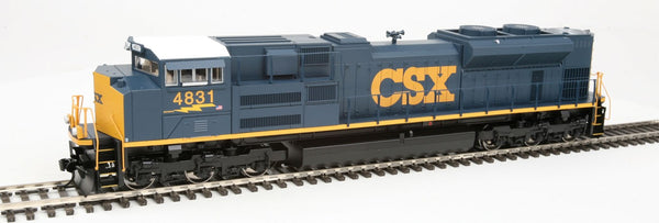 Walthers Mainline 910-19803 CSX Transportation #4831 EMD SD70ACe Locomotive - SoundTraxx(R) Sound & DCC -- (High Headlight; blue, yellow) HO Scale