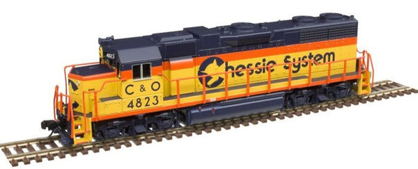 Atlas 40004124 Chessie (C&O) GP-38 Low Nose Diesel Locomotive #4823 N SCALE