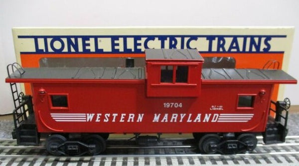 Lionel 6-19704 Western Maryland WM Extended Vision Caboose with Smoke