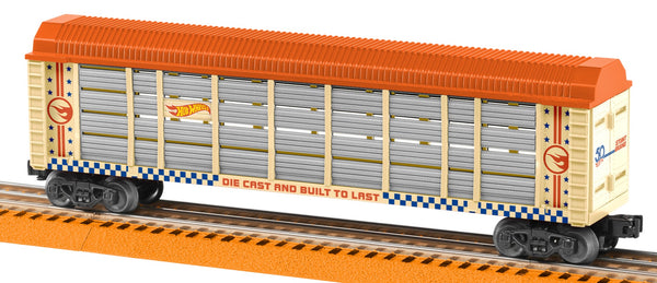 Lionel 6-84705 Hot Wheels 50th Anniversary Auto Rack Auto Carrier