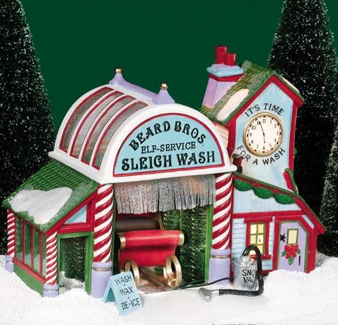 Department 56 56.56740 Beard Bros Sleigh Wash