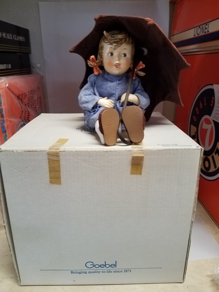 Hummel Umbrella Girl Large Doll