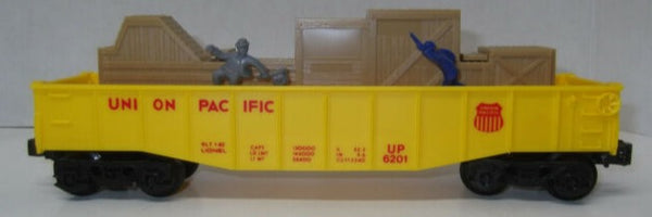 Lionel 6-6201 Union Pacific UP Animated Mechanical Chase Gondola