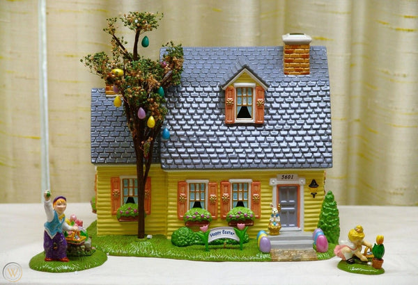 Department 56 56.55090 Easter Happy Easter House