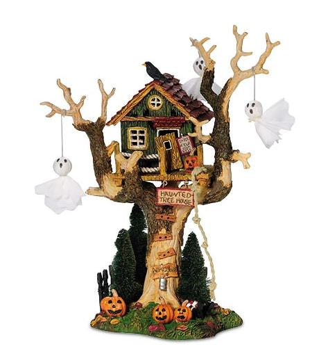 Department 56 56.55150 Halloween Haunted Tree House