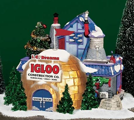 Department 56 56.56785 I.C. Dreams Igloo Construction Company