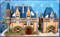 "Department 56 Lot 5350-3 Disney ""Mickey's Christmas Carol"" with Disney Village accessories benches and lampposts"