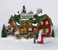 Department 56 56.55601 Mrs. Claus' Northwoods Nursery