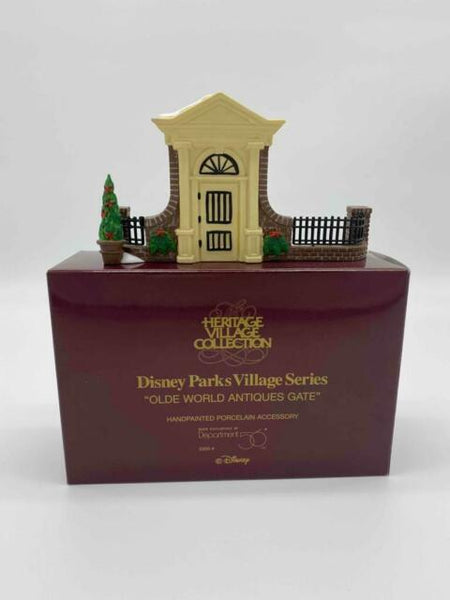 Department 56 5355-4 Disney Olde World Antiques Gate (Heritage Village Collection)