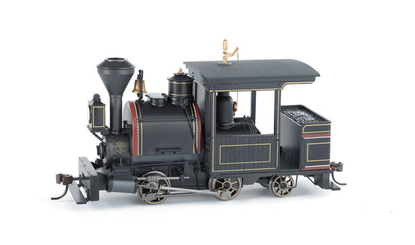 Bachmann 28202 Porter 0-4-2 w/Sound & DCC - Spectrum - Painted, Unlettered (black, maroon, gold) On30 HO Scale