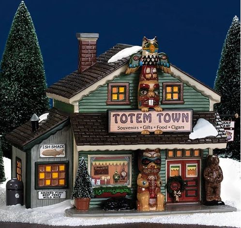 Department 56 56.55053 Totem Town Souvenir Shop