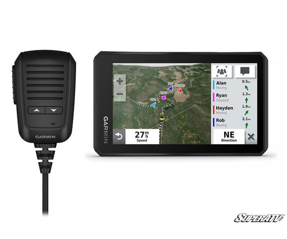 Garmin Tread Powersport Navigator With Group Ride Radio by Super ATV