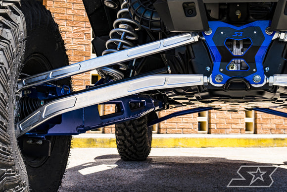 POLARIS RZR XP TURBO S HD HIGH CLEARANCE BILLET ALUMINUM RADIUS RODS BY S3