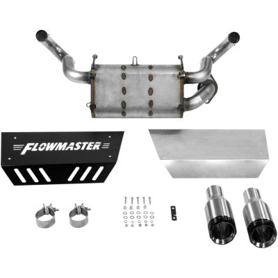 15-17 POLARIS RZR XP 1000, DUEL MUFFLER