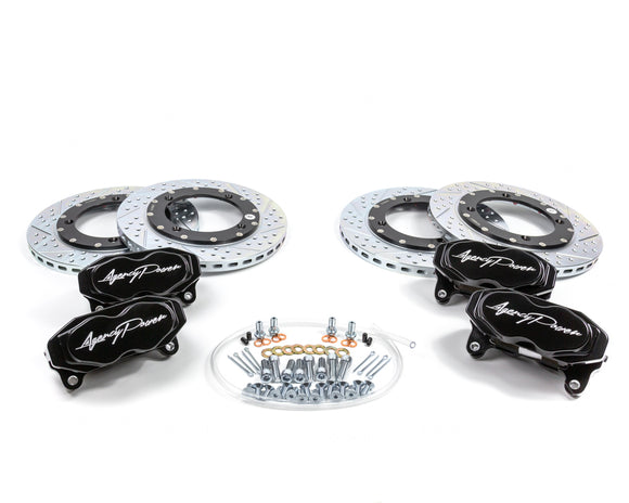 Agency Power Big Brake Kit Front and Rear Can-Am Maverick X3