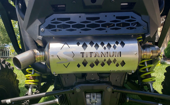 RZR XP Titanium Muffler by Diamond S