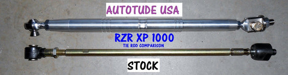 Autotude Heavy Duty Billet Aluminum Tie Rods RZR 900 2015+ (Free Shipping Lower 48 States Only)