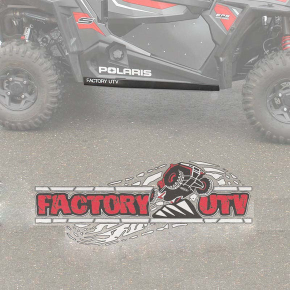 Polaris RZR 1000-S UHMW Rock Sliders by Factory UTV