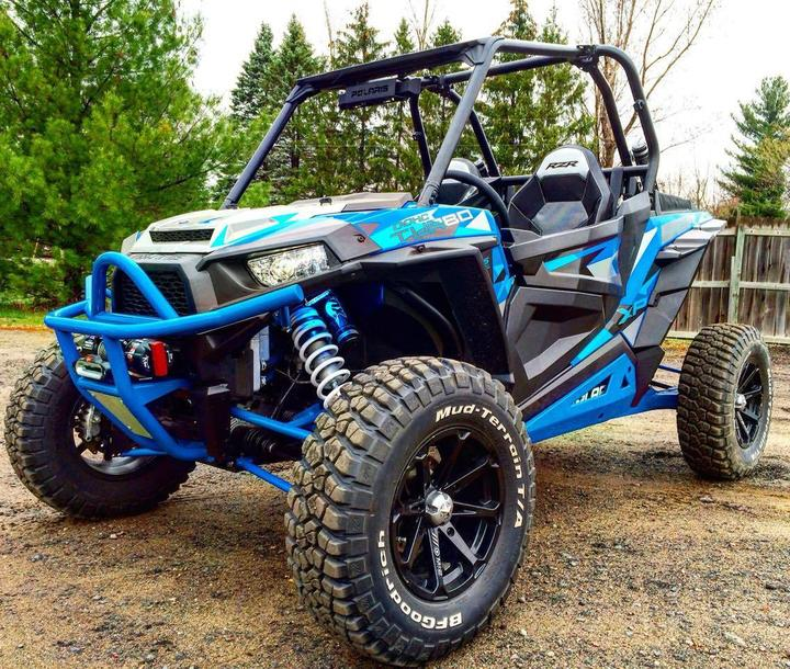 POLARIS RZR EXO WINCH BUMPER by B&M Fabrications
