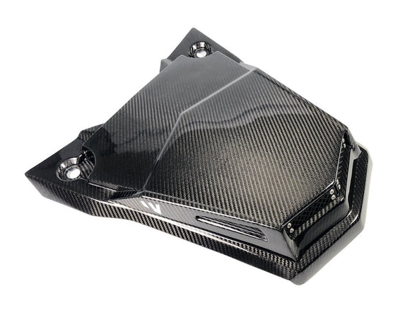 POLARIS 'RS1' CARBON FIBER SCOOPED HOOD by FOURWERX