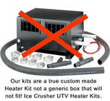 Ice Crusher Under Dash Polaris RZR XP1000/S and RZR-4 XP1000 by Couper's