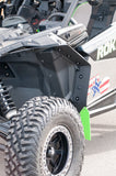 CAN-AM MAVERICK X3, X DS, X RS 2017+ Mud Flaps REQUIRES OEM FENDER FLARES by ROKBLOKZ