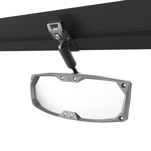 Halo-R Rearview Mirror with ABS Bezel – Polaris Pro-Fit Ranger Header Panel by Seizmik