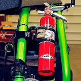 Spectrum Quick Release Fire Extinguisher Mount with Universal Clamp by Sector Seven