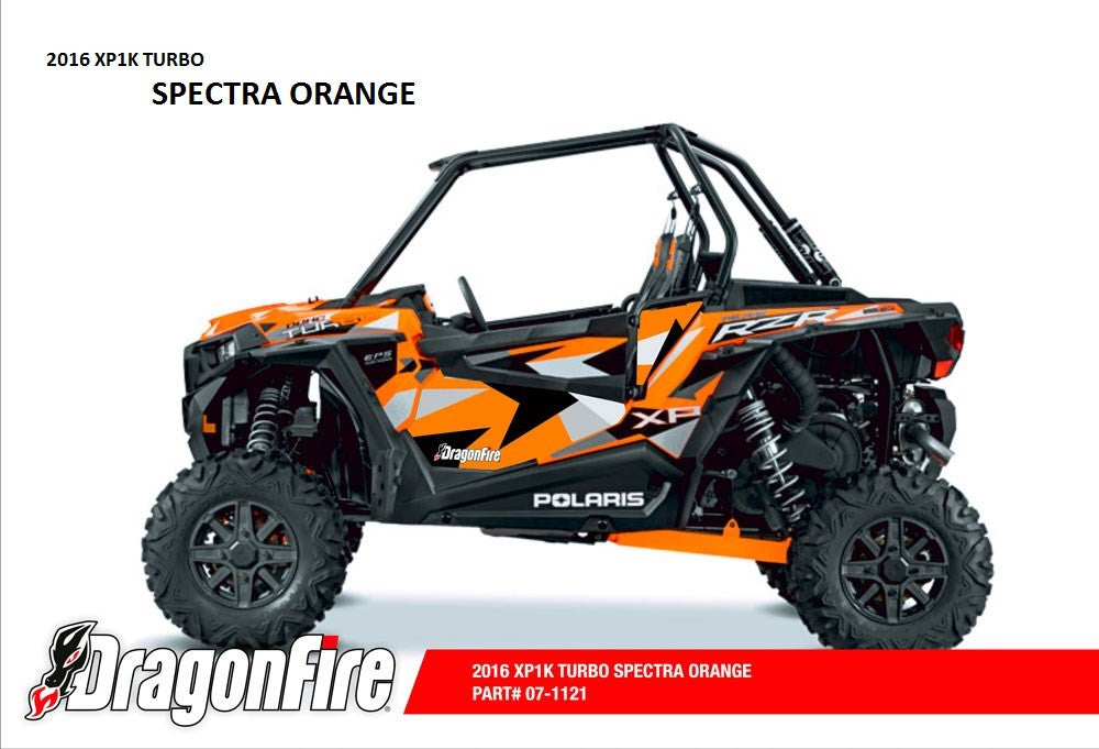 Door Panel Graphics RZR XP 1000 (2 Seat 2016) by Dragonfire
