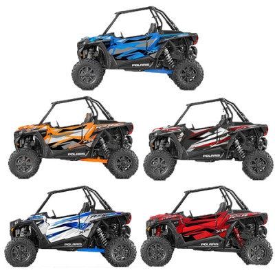 2016 RZR Turbo Door Graphics Kit by Proline Graphics