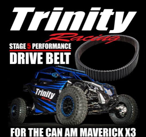 Trinity Racing EXTREME Belts for CanAm
