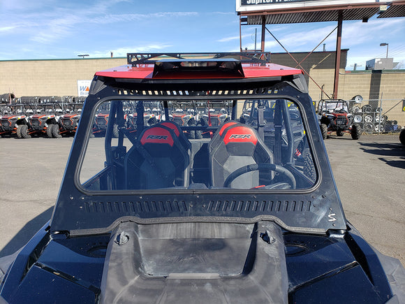 RZR Glass Windshield With Vents by Diamond S Manufacturing