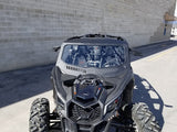Maverick X3 Glass Windshield With Vents by Diamond S Manufacturing