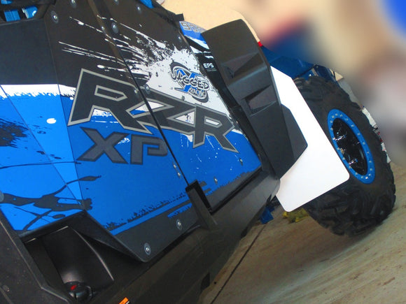 Mud Flaps by ROKBLOKZ for Polaris RZR XP 900 2011-2014