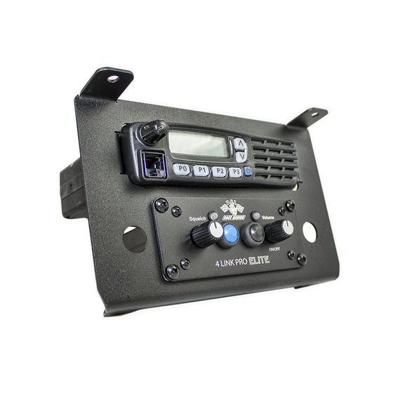 Polaris RZR XP Turbo S Radio and Intercom (Icom) Bracket by PCI Race Radios
