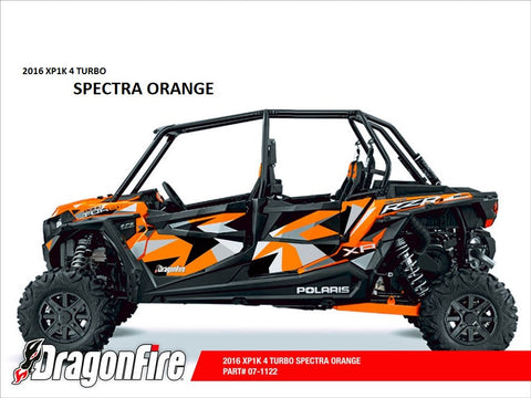 Door Panel Graphics RZR XP 4 1000 (4 Seat 2016) by Dragonfire