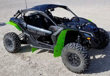 Can-Am Maverick X3 2017+ Mud Flaps - Front & Rear ** NOT FOR BRP FENDERS by ROKBLOKZ