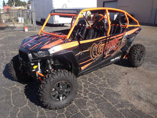 Dirt Engineered Desert Works Xp 4 1000 Roll Cage And