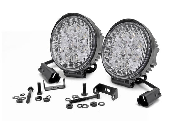 ROUGH COUNTRY 4-INCH LED ROUND LIGHTS