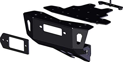 Polaris RZR Turbo S Winch Mount