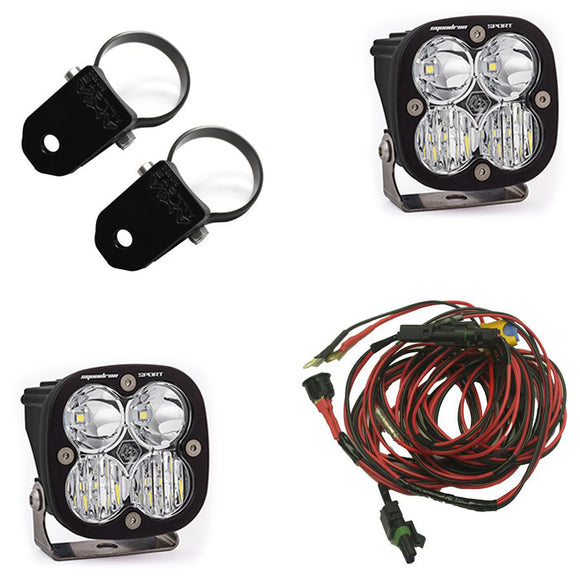 Can-Am Commander Lighting Kit, Squadron Sport by Baja Designs