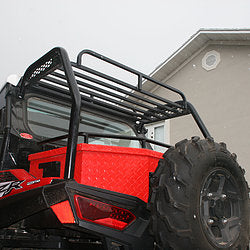 Polaris RZR Aluminum Cargo Rack by Ryfab