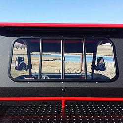 Polaris RZR 900/1000/Turbo Rear Glass Window by Ryfab