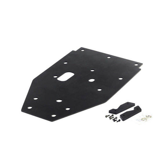 Polaris RZR UHMW Rear Chassis Skid Plate by Holz
