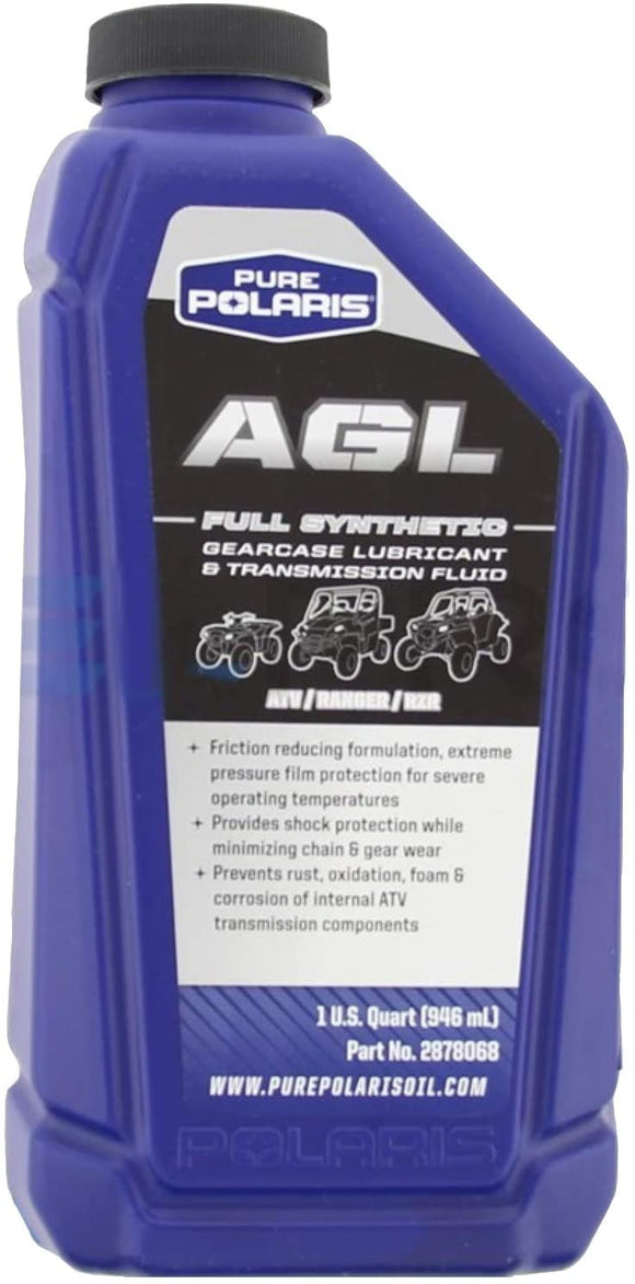Polaris Premium Synthetic AGL Plus Gear Lube 1 U.S. Quart (946 mL)