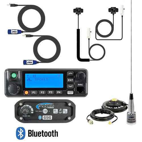 RRP696 2-Person Builder Kit with Digital Mobile Radio by Rugged Radios
